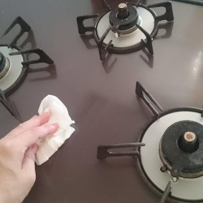 キッチンコンロお掃除