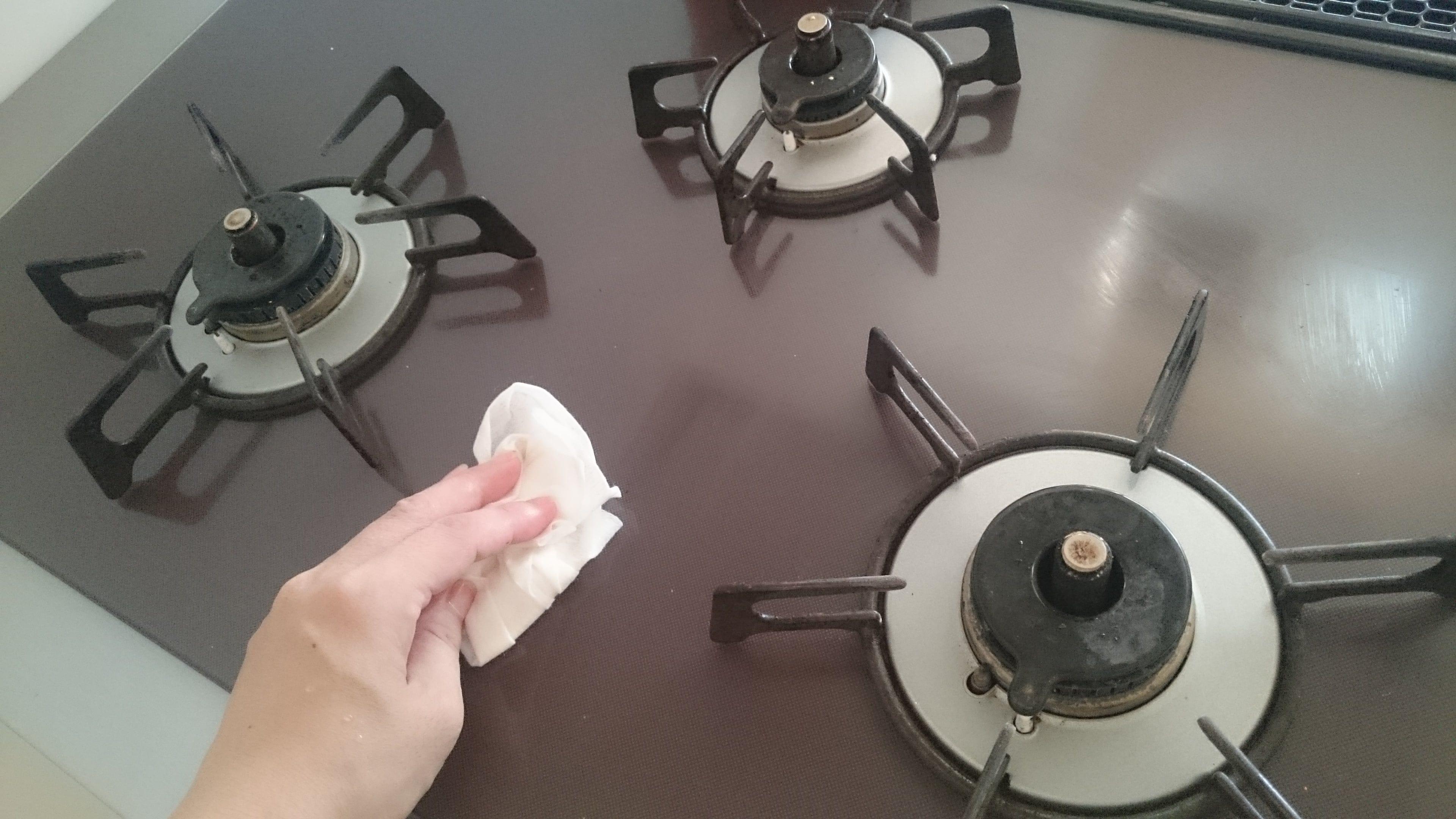 キッチンコンロお掃除のイメージその1