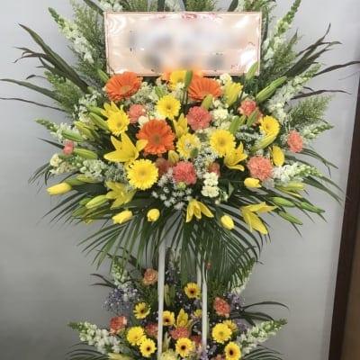 アワード用フラワースタンド(スタンド花)2段
