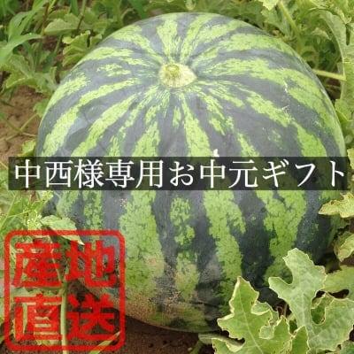 【中西様専用】新潟県産すいかお中元ギフト