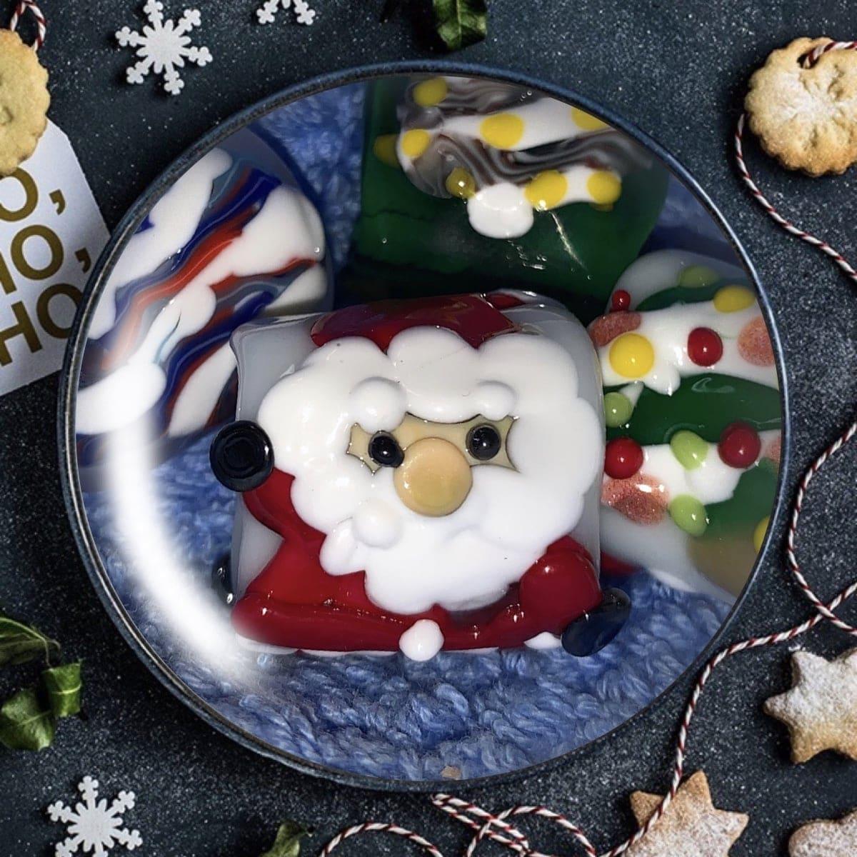 かのう様 クリスマス限定 とんぼ玉サンタ帯留めチケットのイメージその1