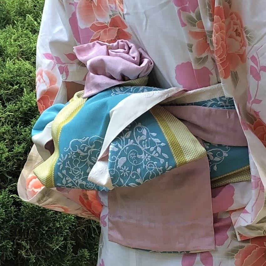 中川様専用浴衣&半幅帯と和装小物チケットのイメージその4