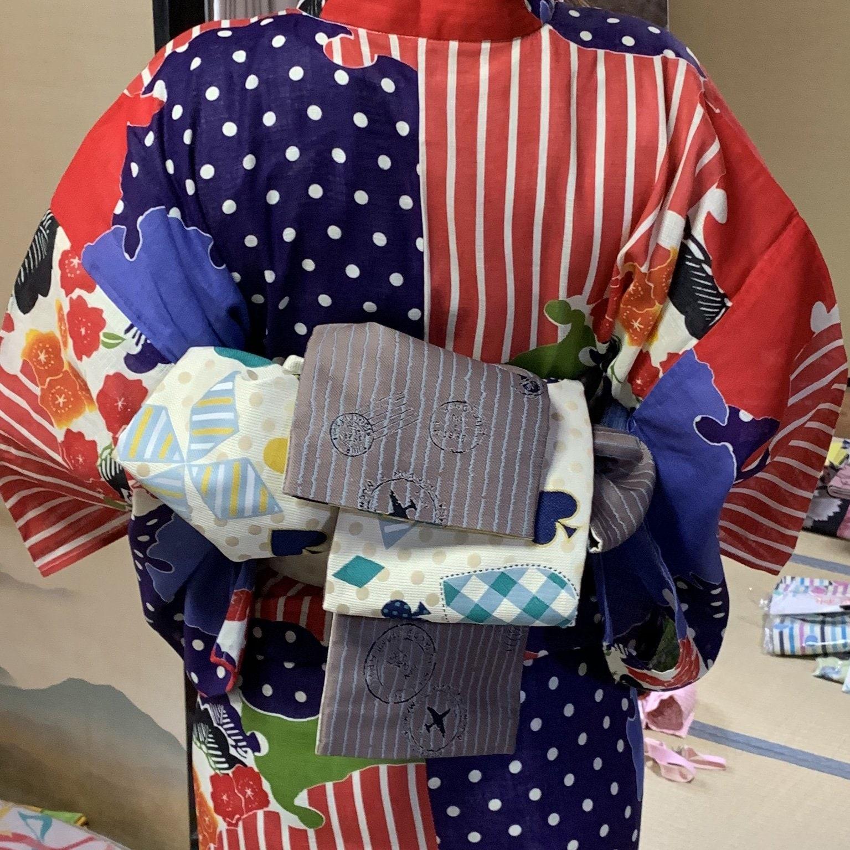 中川様専用浴衣&半幅帯と和装小物チケットのイメージその3