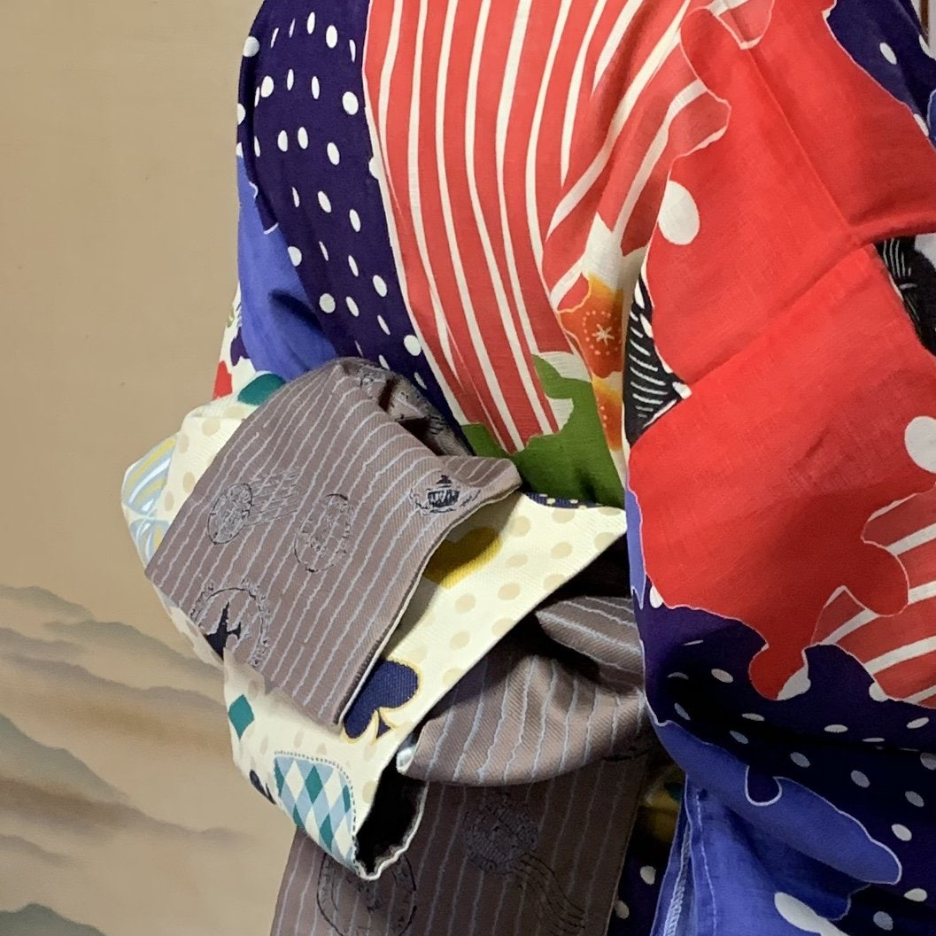 中川様専用浴衣&半幅帯と和装小物チケットのイメージその2