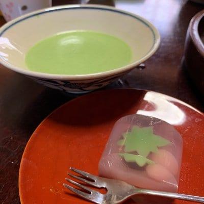 浴衣拝見&お抹茶(生菓子付き)セットチケット