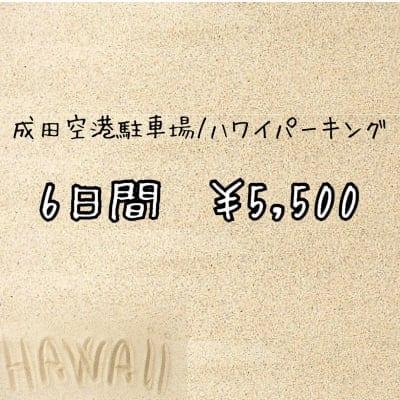 6日間/¥5500【成田空港駐車場・料金】