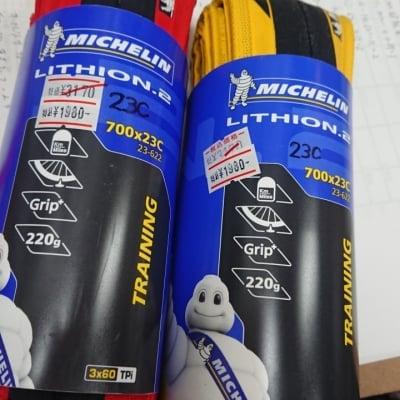 特価現品限商品 ミシュラン リチオン2 スポーツ自転車用タイヤ ロードバイクタイヤ 700×23C サイズ