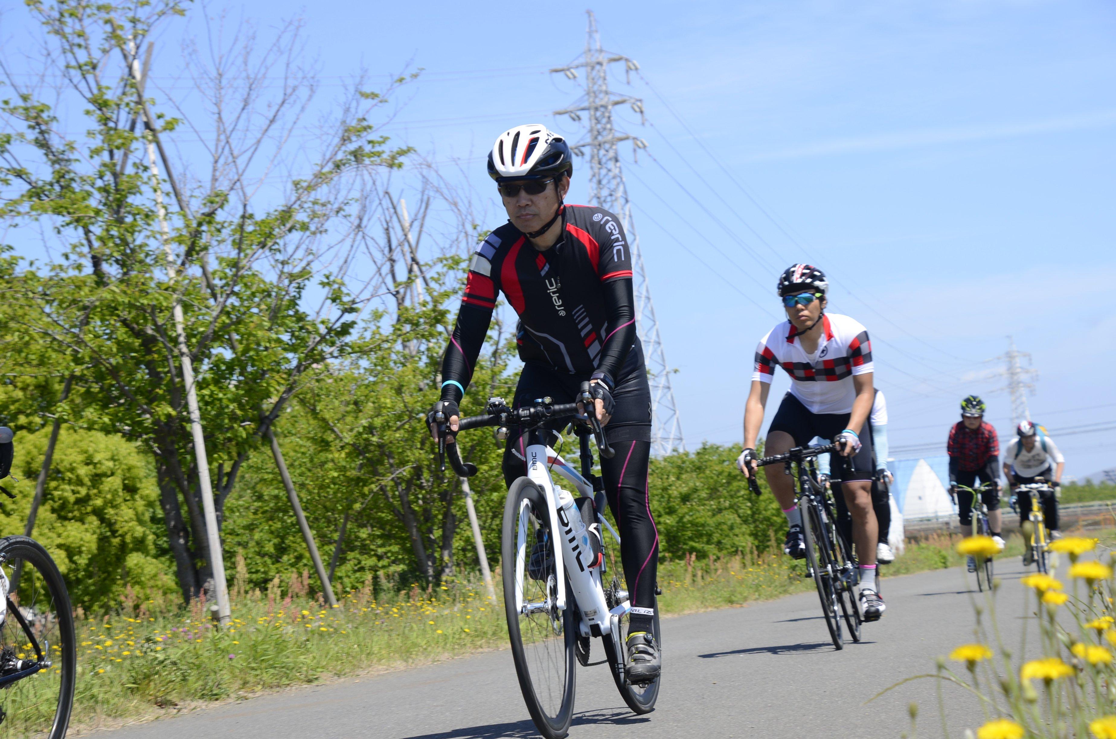 【4月17日土曜】午前の部・中級!! 中級スポーツサイクリング20km ヒルクライム基礎 参加費 午前8時から のイメージその3