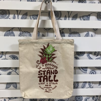 【Island Heritage】ウーブントートバッグ 〜 ビーア パイナップル 〜