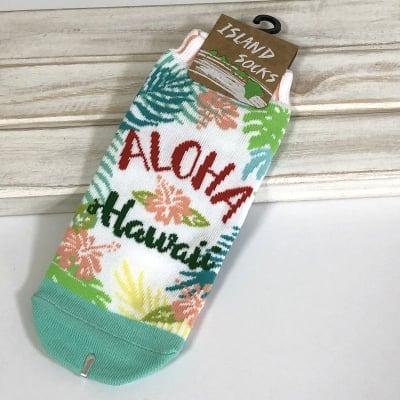 レディース ハワイアン靴下 〜アロハ ハワイ〜