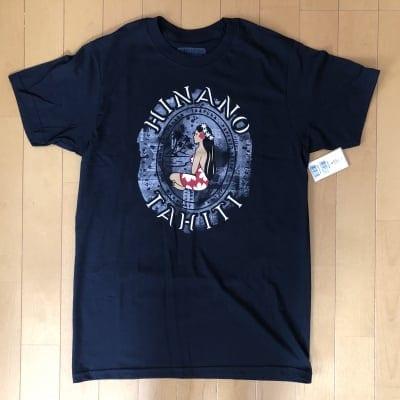 【Hinano Tahiti】メンズTシャツ 〜 カイコ/ブラック 〜 Sサイズ