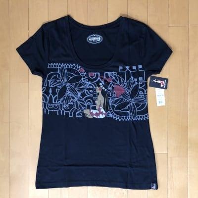 【Hinano Tahiti】レディースTシャツ 〜 コバート/ブラック 〜 Mサイズ