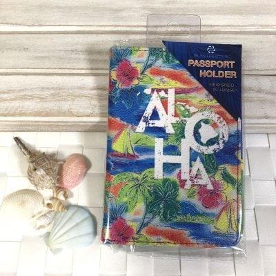 【Island Heritage】パスポートケース 〜 トロピカルアロハ 〜