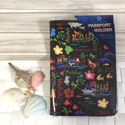 【Island Heritage】パスポートケース 〜 ハワイアン アドベンチャー 〜