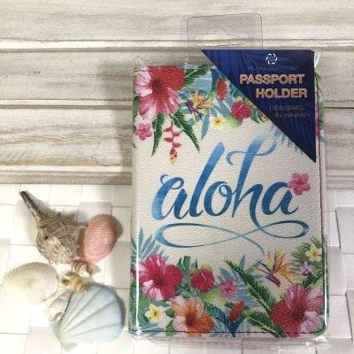 【Island Heritage】パスポートケース 〜 アロハ フローラル 〜