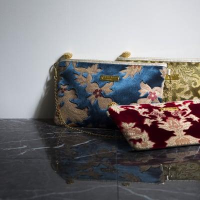 クラッチバッグ【KIWAKA】日本の伝統技術から生まれた、まるでジュエリーのような製品