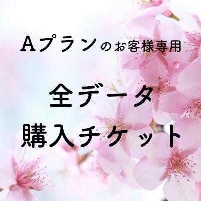 【桜撮影会専用】Aプランのお客様専用 全データ購入チケット