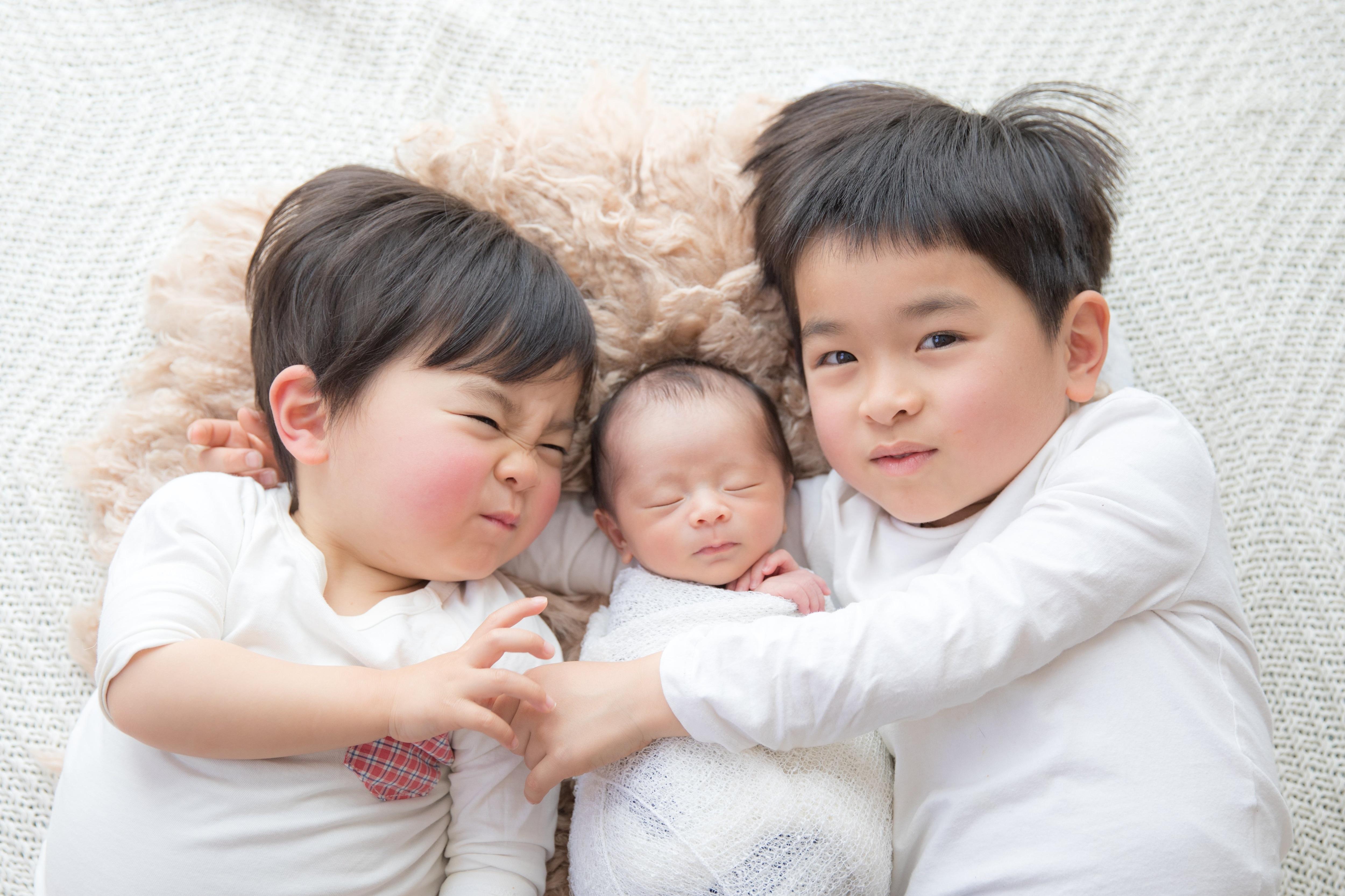 ニューボーンフォト【ベーシックプラン】生まれたての一瞬を残す!新生児写真のイメージその1