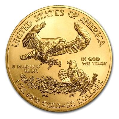 『イーグル金貨 1オンス 2018年製』アメリカ造幣局発行 ゴールドコイン 金貨