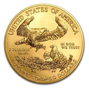 『イーグル金貨 1オンス 2017年製』アメリカ造幣局発行イーグルコイン 金貨