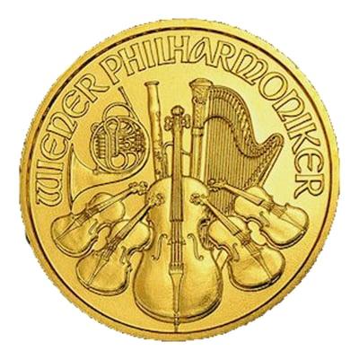 『ウィーン金貨 1/10オンス (ランダム・イヤー)』オーストリア造幣局発行 ウィーン金貨