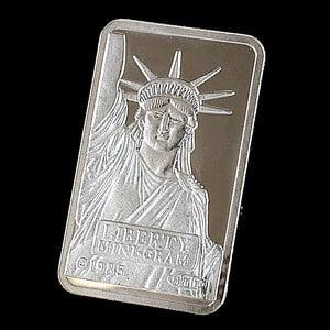 【スイスクレジット プラチナバー 2g インゴット 】 クレディ・スイス銀行発行 2gの純プラチナ INGOT インゴット プラチナ バー 白金 Pt Platinum