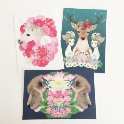 オリジナルデザイン ポストカード