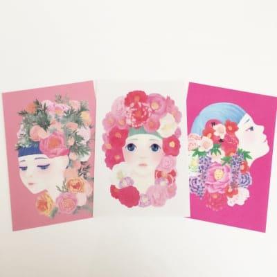 オリジナルデザインポストカード【優悠】【微睡】【艶麗】