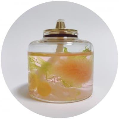 ☆特価☆癒しの灯り【ランプリウム】単品/mini/オレンジ&イエロー/送料無料