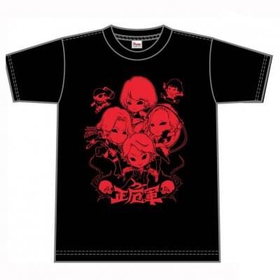 [Tシャツ]NEW正危軍キャラクターTシャツ(レッドラメ)[サイズS]