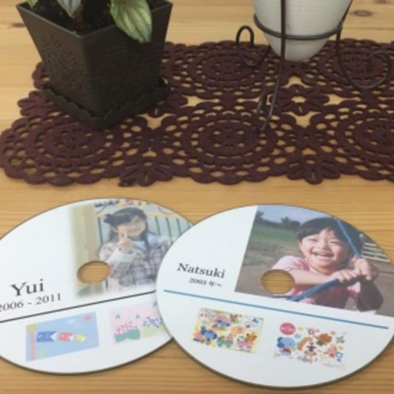 子どもの「思い出の絵」や「工作物の写真」「お母さんへの手紙」などをデータにしてDVDに保存のイメージその1