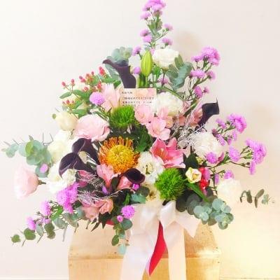 ギフト生花アレンジメント☆開業祝いやご結婚のお祝いに!