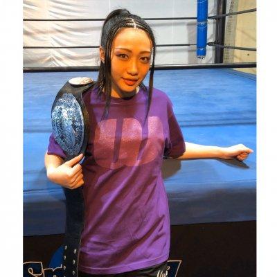 新作WAVETシャツ『野崎渚』紫