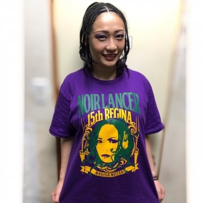 《Lサイズ》野崎渚Tシャツ初登場!!パープルバージョン!