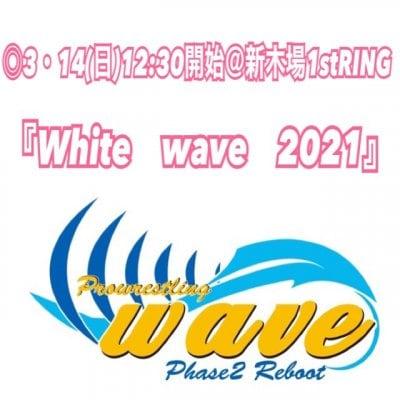 wave3月14日(日)@東京・新木場大会【RS席】