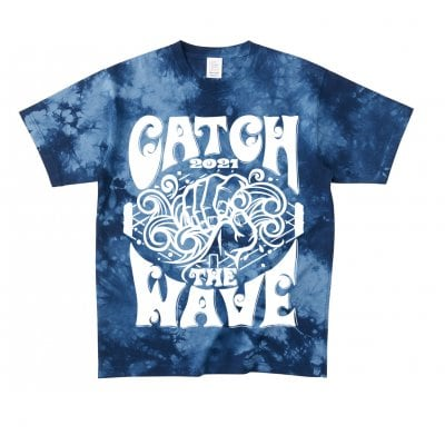 《Mサイズ》CATCH THE WAVE 2021Tシャツ登場!!「ネイビー」