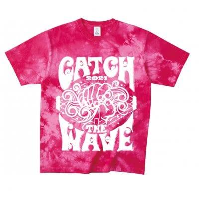 《Mサイズ》CATCH THE WAVE 2021Tシャツ登場!!「ピンク」