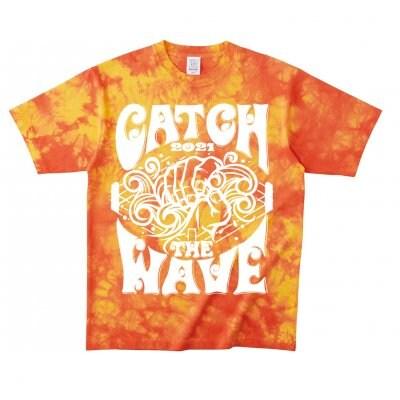 《Lサイズ》CATCH THE WAVE 2021Tシャツ登場!!「オレンジ」