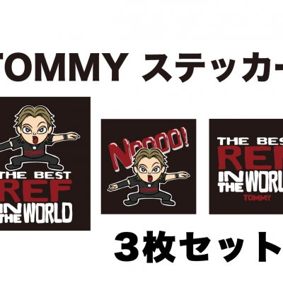 Tommyステッカー3種セット