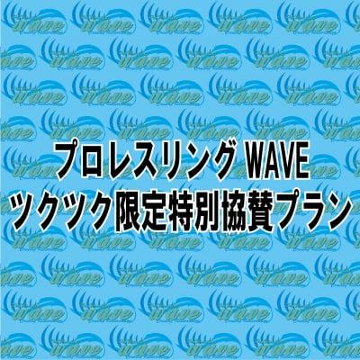 プロレスリングWAVE・ツクツク限定特別協賛プラン