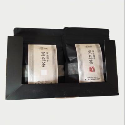 〜食べる〜黒豆茶(特選大粒) 炒り黒豆(120g×2)