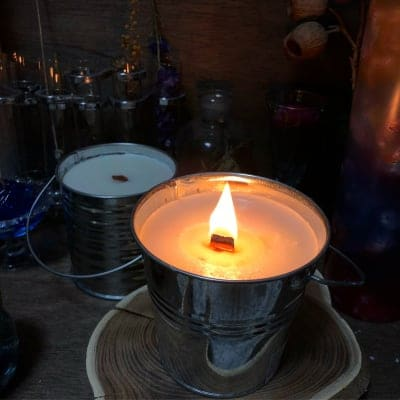 【アウトドアに最適】焚き火キャンドル