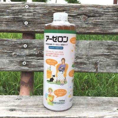 アーゼロン 家庭用環境浄化液 原液タイプ 1L 乳酸菌 酵母(化学合成品、抗菌剤不使用)