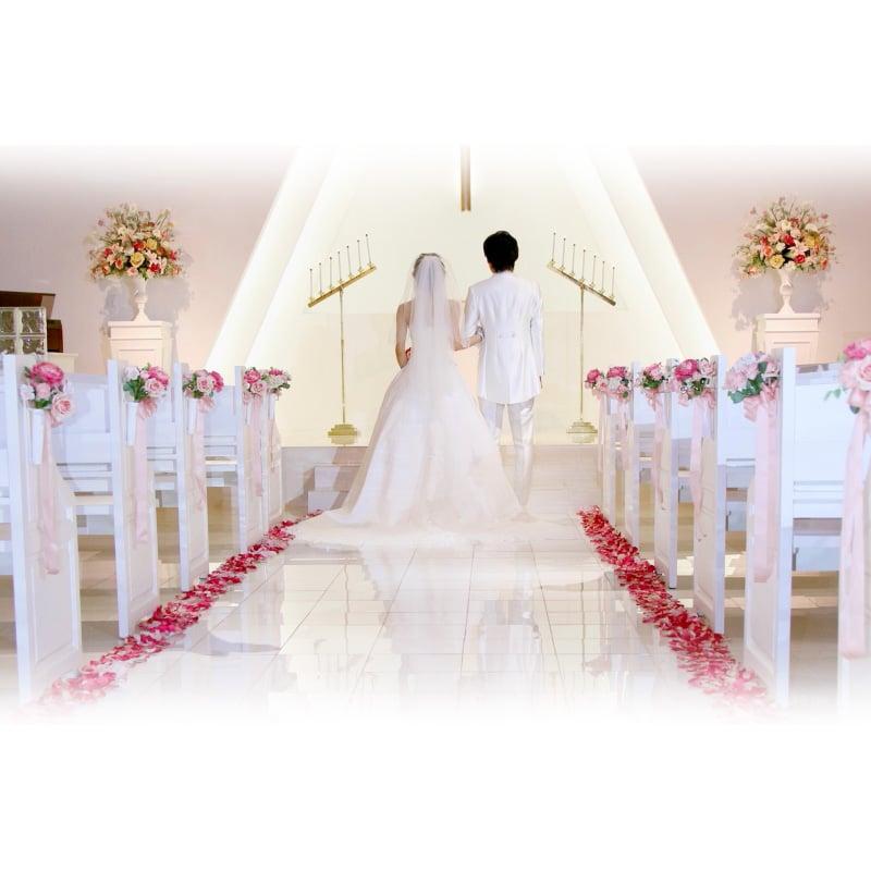 【ポイント5%還元セール】 人気の海外結婚式、ハワイウェディング | 2019年9〜12月のプリマリエ教会スーパープランのイメージその1