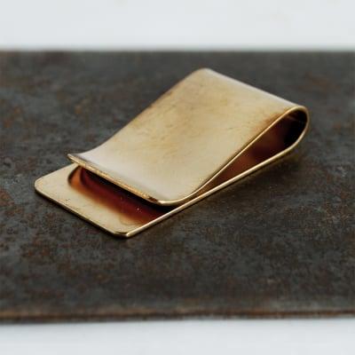 [BRASS(真鍮)] マネークリップ