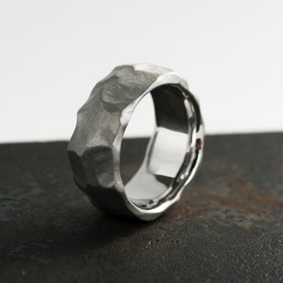 Silver Ring [ROCK] (10mm)