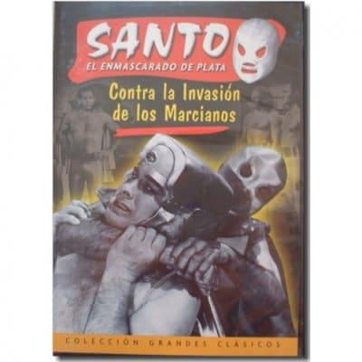 DVDエル・サント映画コレクション11【サント対火星からの侵略者】1966年メキシコ