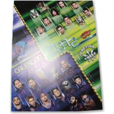 カレンダー DRAGONGATE(2012年)