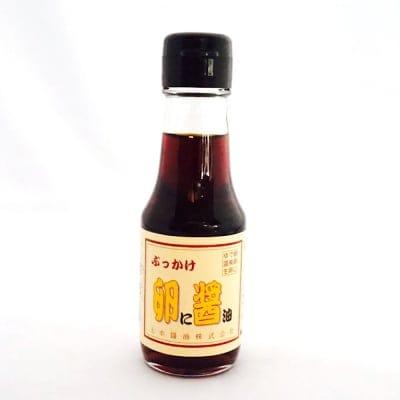 【ひつき屋調味料】上ホ醤油ぶっかけ卵に醤油100ml