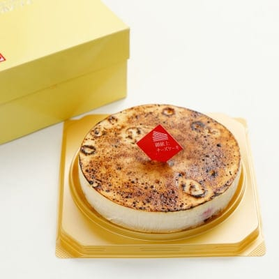 日本航空国内線ファーストクラスのデザートにも!ご献上カスティーラの御献上チーズケーキ(直径12cm×1台)の画像1